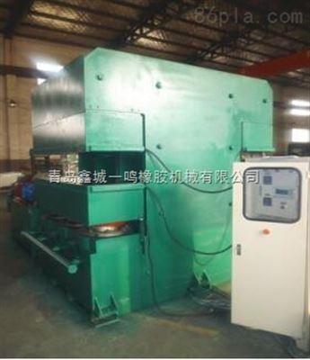 XLB-D4000×500*1/15.00MN双鄂式胎面硫化机,鄂式止水带平板机
