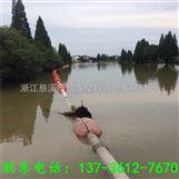 河道警示标志物清淤管道浮体