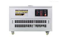 TOTO25手电启动25kw静音汽油发电机