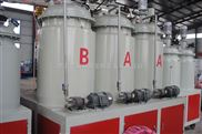 供应亿双林pu欧式仿木花盆低压发泡生产设备