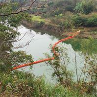 水电站闸口拦污工程浮萍拦截浮桶装置