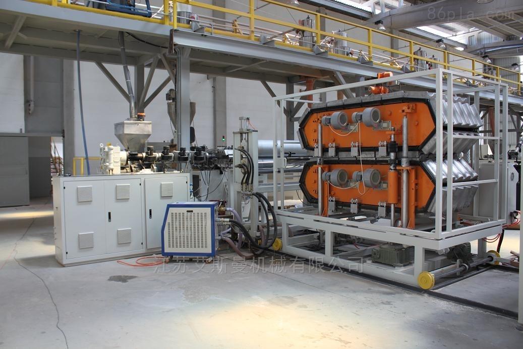 80/156 江苏艾斯曼机械合成树脂瓦生产线