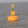 株洲水上警示浮鼓1.4米塑料浮标价格
