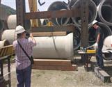 混凝土排水管抗压试验机_排雨管压力测试