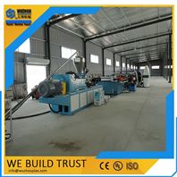 PVC结皮发泡建筑模板生产线