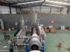 高速单螺杆挤出机PE三层共挤管材设备