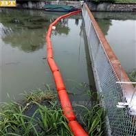 夹网拦污浮体