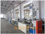 塑料管材设备厂家 HDPE硅芯管生产线