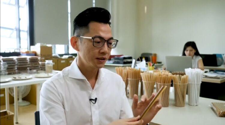 植物纤维塑料吸管问世有望改善环境问题