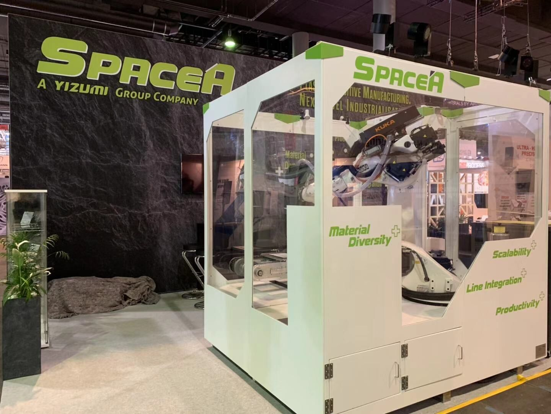 伊之密机器人柔性增材制造系统 SPACE A亮相formnext 2018