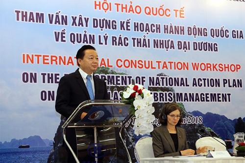 越南拟定海洋塑料垃圾管理国家行动计划